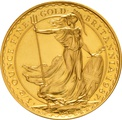 1987 Half Ounce Britannia Gold Coin