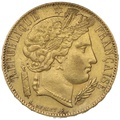 1850 20 French Francs - Ceres