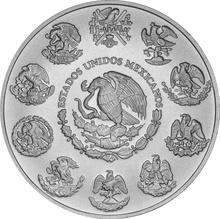 2018 1oz Mexican Libertad Silver Coin
