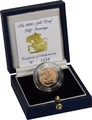 Gold Proof 1990 Half Sovereign Boxed