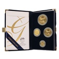 2005 Proof Gold Eagle 4-Coin Set Boxed
