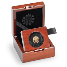 2014 Quarter Sovereign Gold Proof Coin Boxed