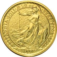2015 Half Ounce Britannia Gold Coin