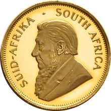 1988 Proof Half Ounce Krugerrand Gold Coin