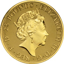 1/4oz Gold Coin, The Unicorn of Scotland - Queen's Beast