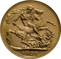 1925 Gold Sovereign - King George V - London