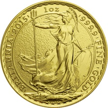 2015 Britannia One Ounce Gold Coin PCGS MS69