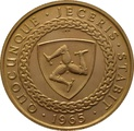 22ct 1965 Isle of Man Gold Half Sovereign Coin Bicentenary of the Revestment Act