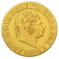 1820 George IIII Sovereign Closed 2