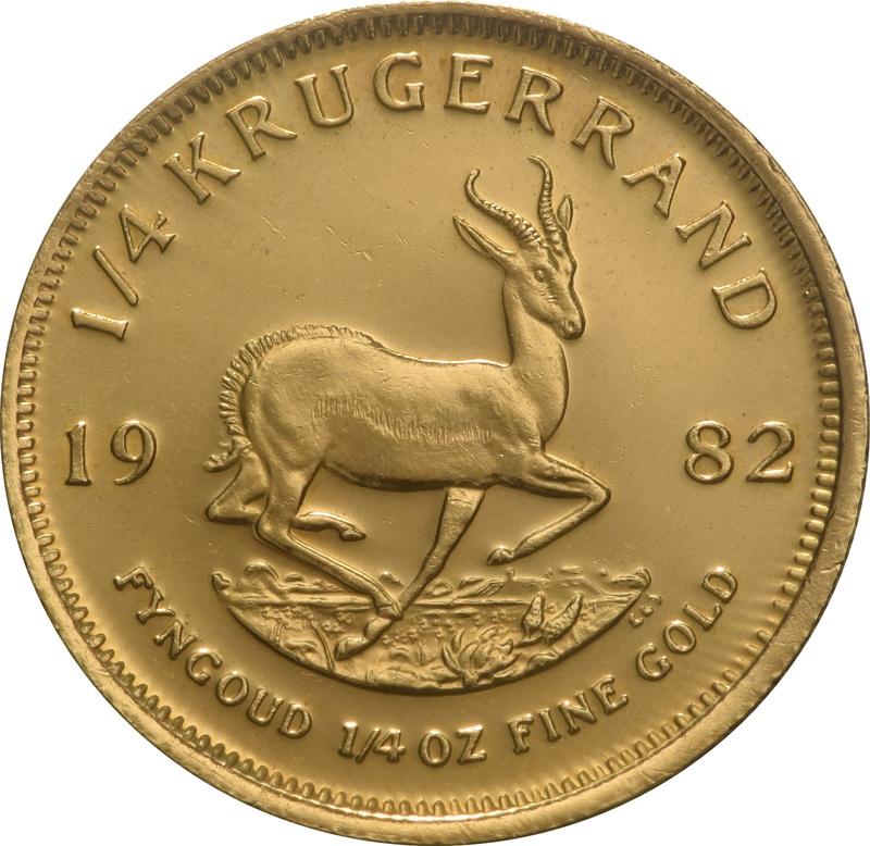 1982 Quarter Ounce Gold Krugerrand