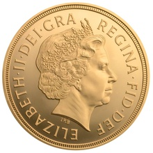 £2 British Gold Coin (Double Sovereign)