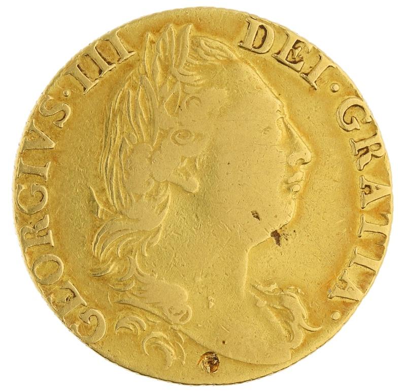 1777 Guinea Gold Coin