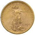 1922 $20 Double Eagle St Gaudens Gold coin Philadelphia