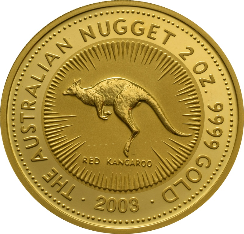 2003 2oz Gold Australian Nugget
