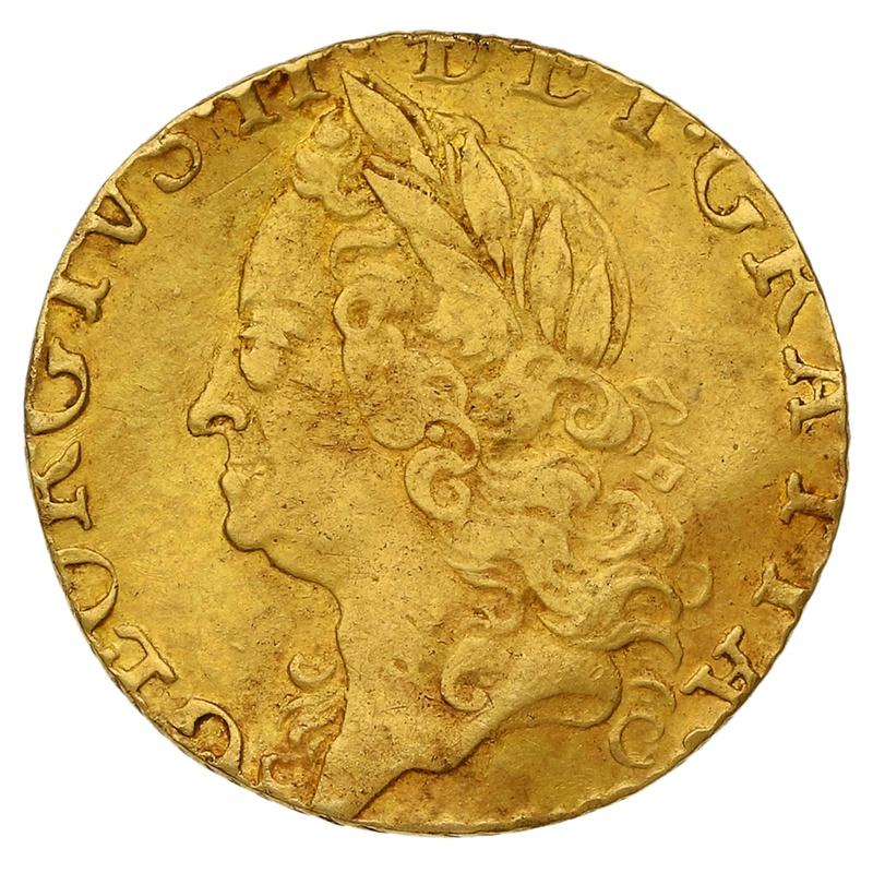1759 George II Half Guinea