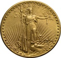 1914 $20 Double Eagle St Gaudens Head Gold Coin Denver