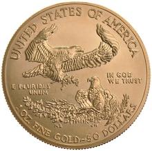 1987 1oz American Eagle Gold Coin MCMLXXXVII