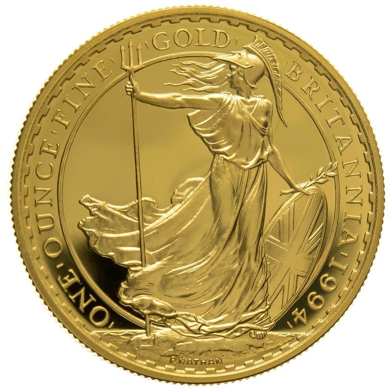 1994 One Ounce Proof Britannia Gold Coin