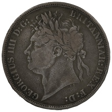 1821 George IV Silver Crown