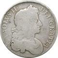 1677 Charles II Crown - Fine