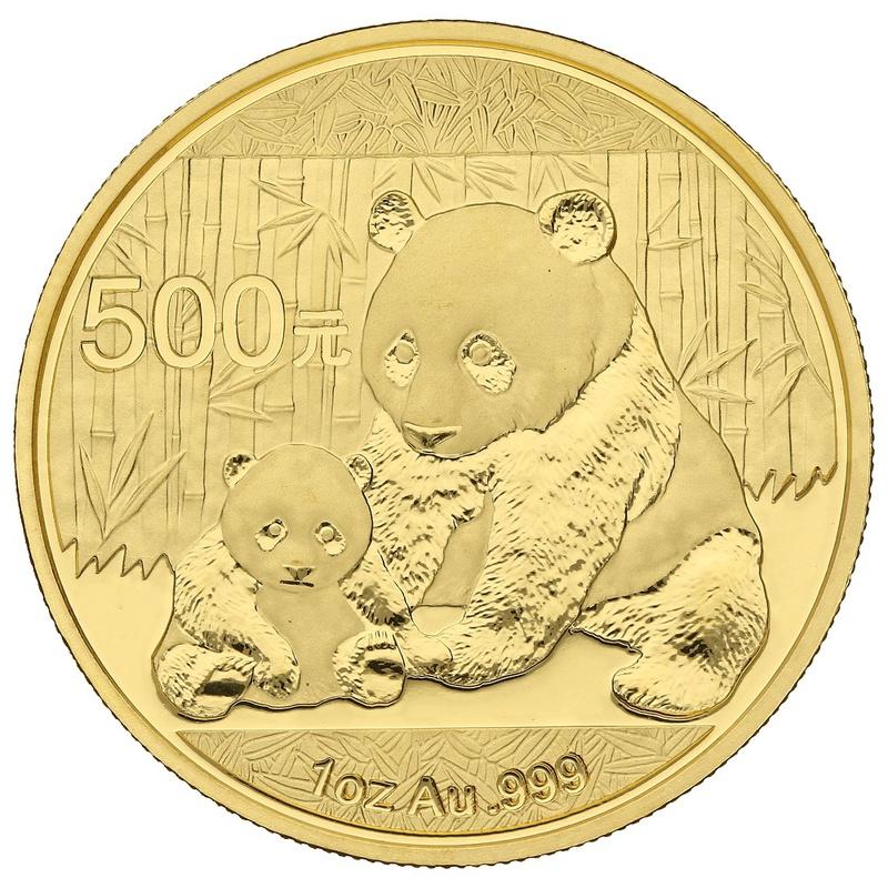 2012 1oz Gold Chinese Panda Coin