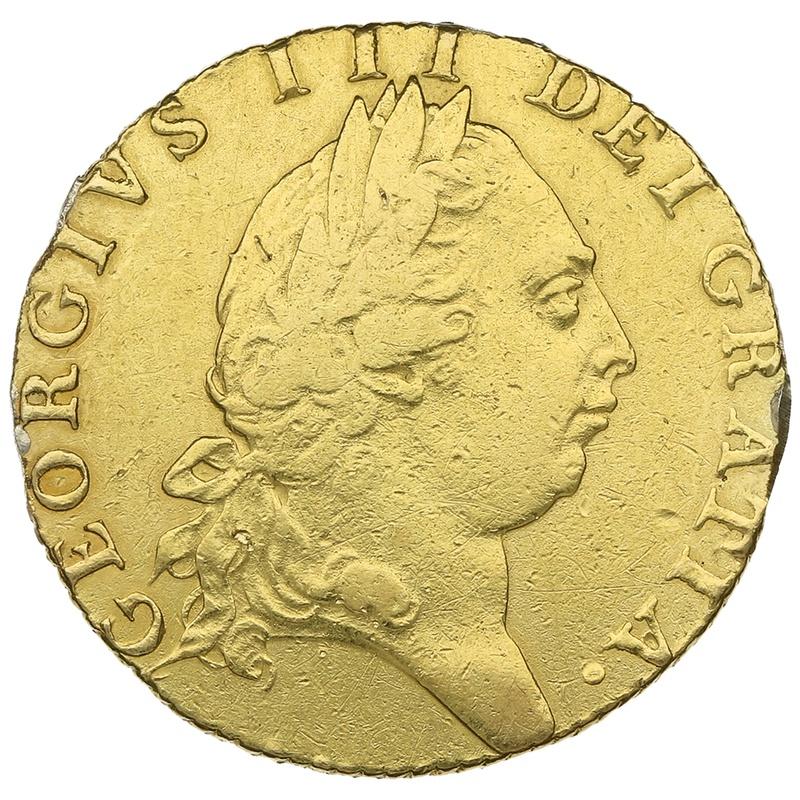 1791 George III Guinea Gold Coin