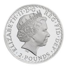 2012 1oz Silver Britannia Coin