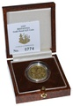 1997 Britannia Quarter Ounce Gold Proof Coin Boxed