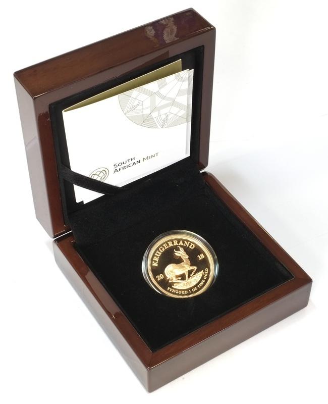 2018 1oz Gold Proof Krugerrand - Boxed