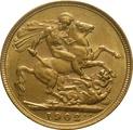 1902 Gold Sovereign - King Edward VII - London