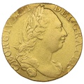 1775 George III Guinea Gold Coin