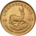 1983 Quarter Ounce Gold Krugerrand