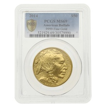2014 1oz American Buffalo Gold Coin PCGS MS69