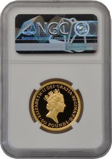 1988 Half Ounce Proof Britannia Gold Coin NGC PF70