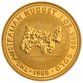 1988 1oz Gold Australian Nugget