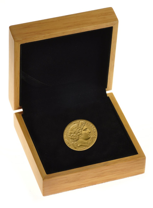 20 French Francs - Ceres Gift Boxed