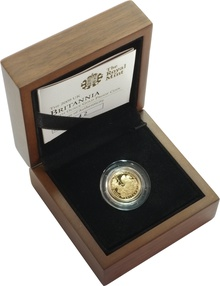 2009 Proof Britannia Tenth Ounce boxed with COA