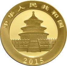 2015 1/2 oz Gold Chinese Panda Coin
