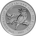 2004 1oz Silver Kookaburra