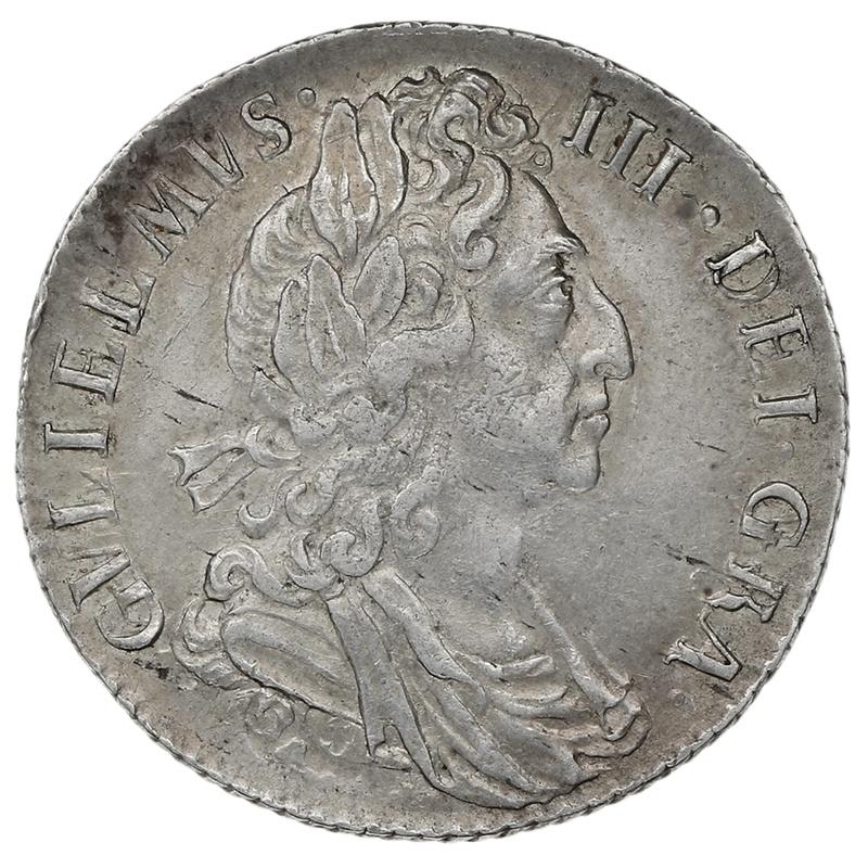 1697 William III Silver Sixpence