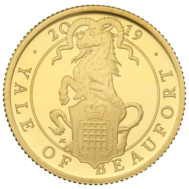 2019 1/4oz Quarter Ounce Proof Yale Gold Coin Queen's Beasts