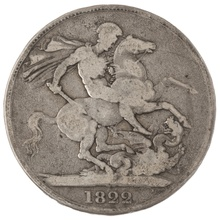 1821 George IV Crown - Fair