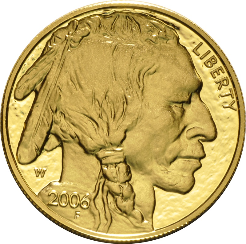2006 American Buffalo One Ounce Gold Proof Coin Boxed