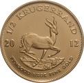 2012 Half Ounce Krugerrand Gold Coin