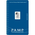 PAMP 1 Gram Platinum Bar Minted