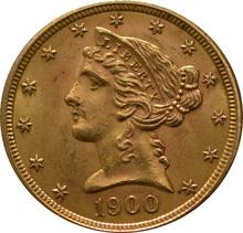 American Gold Half Eagle $5 Liberty Head
