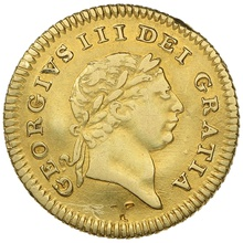1803 George III Gold Third Guinea - Good Fine