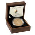 2010 - Gold £5 Proof Crown, Royal Engagement: William and Catherine Boxed