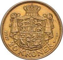20 Kroner Danish - Christian X