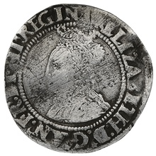 1560-1 Elizabeth I Silver Sixpence mm martlet